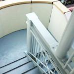 ビル3 階段塗装