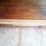 工程②木枠の灰汁抜き