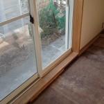 アパート④木枠の剥離、灰汁抜き、ワックス、クリアー