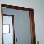 アパート⑤木枠の剥離、灰汁抜き、ワックス、クリアー