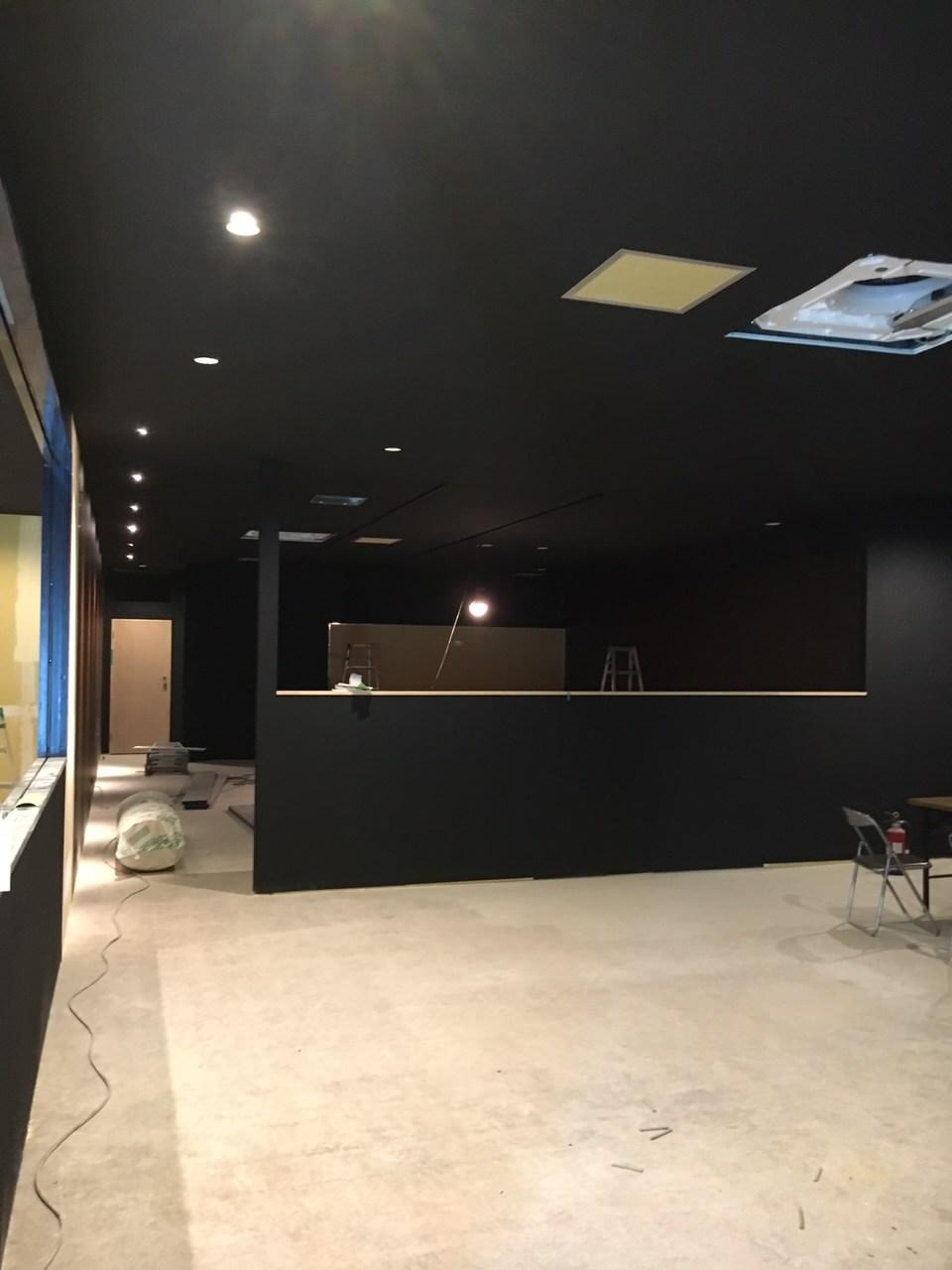 カラオケ・マンガカフェ商業施設-2 クロスボード下地処理
